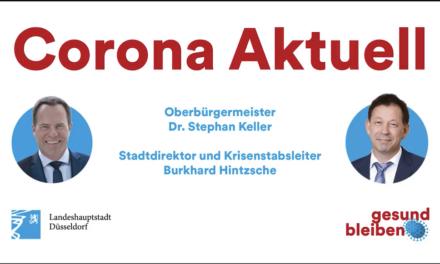 Ab morgen gelten in Düsseldorf folgende Coronaregeln