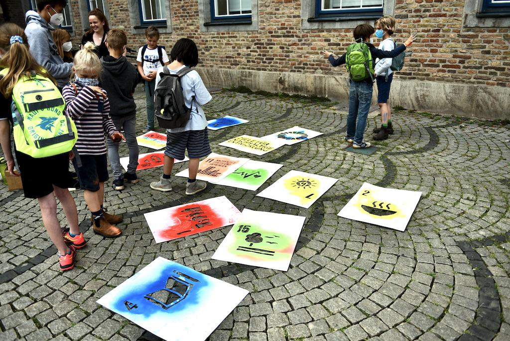 Die jungen Künstler Foto: LOKALBÜRO