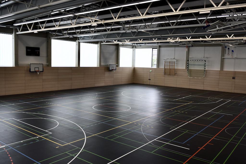 Sporthalle Schorlemerstraße Foto: LOKALBÜRO