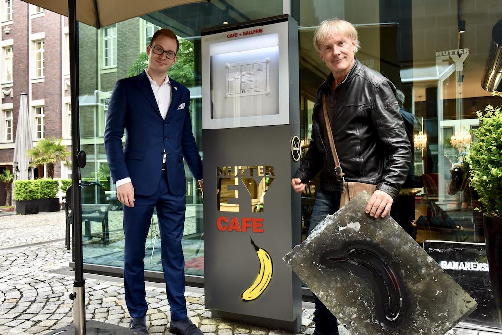 Retstaurantleite Mutte Ey und Thomas Baugärtel Foto: LOKALBÜRO