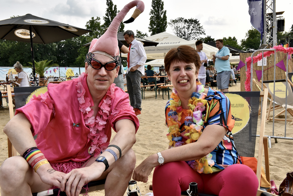 Pink Monday im Beach Club Fot: LOKALBÜRO