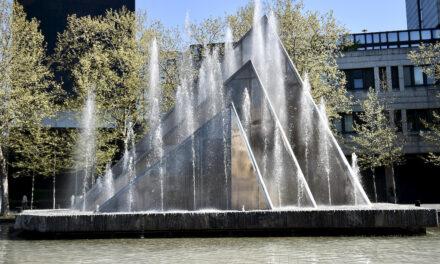 Segelbrunnen vorübergehend außer Betrieb
