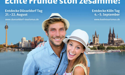 Düsseldorf und Köln werben gemeinsam für Tourismus