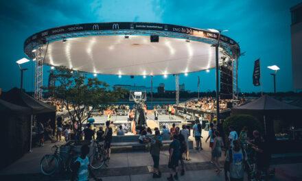 3x3-Basketball Turnier am Wochenende in Düsseldorf