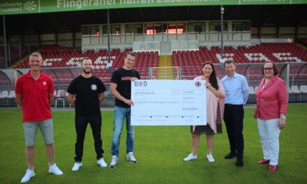 Charity Auktion der Fortuna Fans erbringt 10.000 Euro für das Düsseldorfer Bündnis gegen Depression