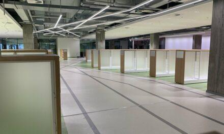 Rund 5.800 Regalmeter für die neue Zentralbibliothek