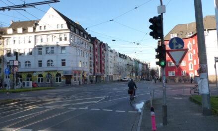 ÖPNV-Beschleunigung und Lückenschluss auf der Radverkehrsachse Richtung Uni