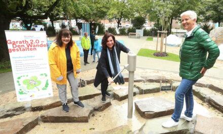 Luft – Land – Meer: Neuer Wasserspielplatz für Garath