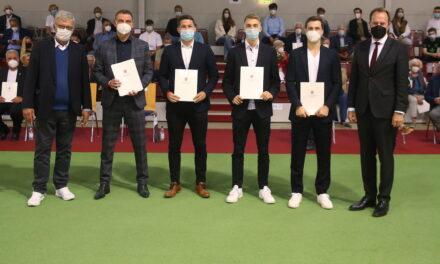 Düsseldorfer Sportlerinnen und Sportler für große Erfolge im Jahr 2020 geehrt
