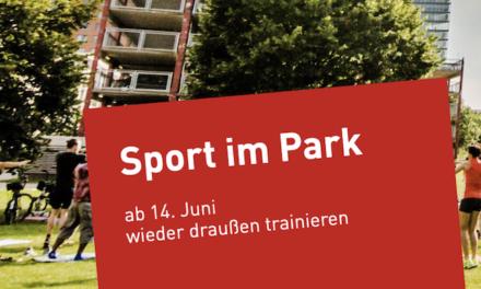 """Über 10.000 Sportbegeisterte bisher bei """"Sport im Park""""dabei"""