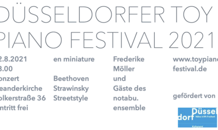 Das Toy Piano Festival in der Neanderkirche