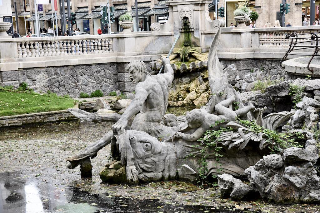 Tritonenbrunnen Foto: LOKALBÜRO