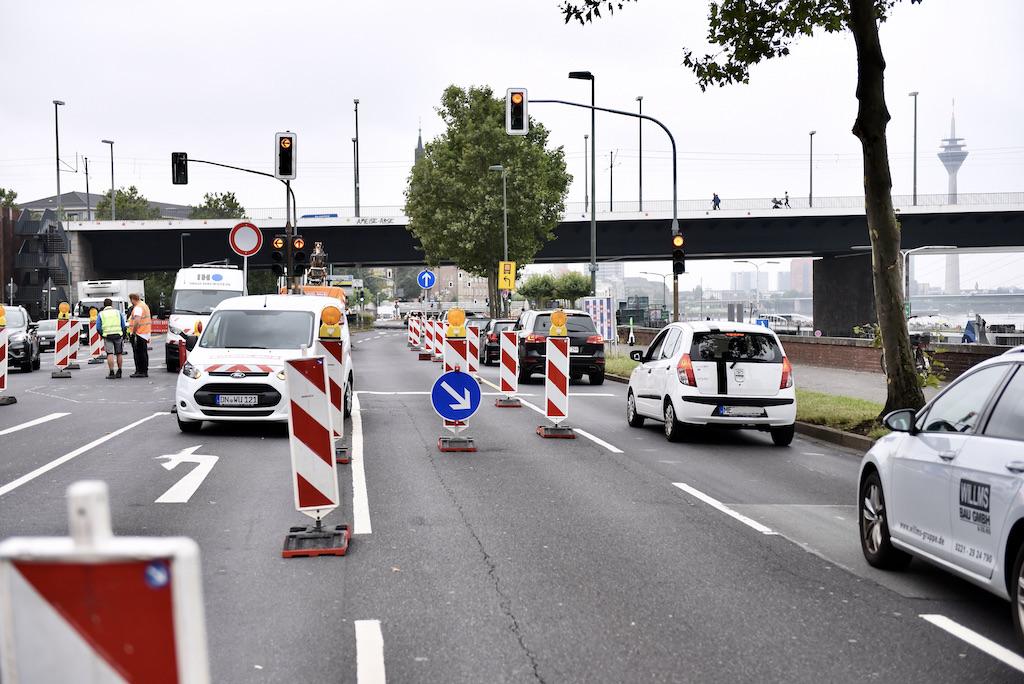 Ausbau Radweg am Joseph-Beuys-Ufer Foto: LOKALBÜRO