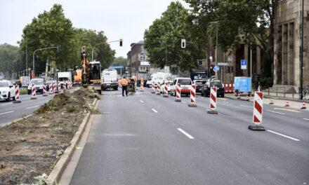 Ausbau des Rhein-Radweges am Joseph-Beuys-Ufer startet