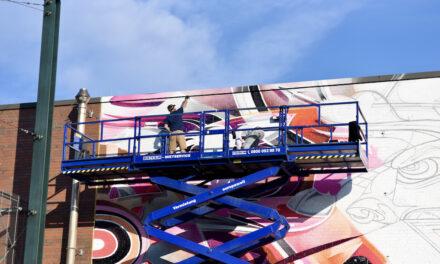 Neues Graffiti in Flingern
