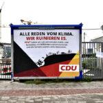 Falsche CDU Wahlplakate in Düsseldorf aufgetaucht
