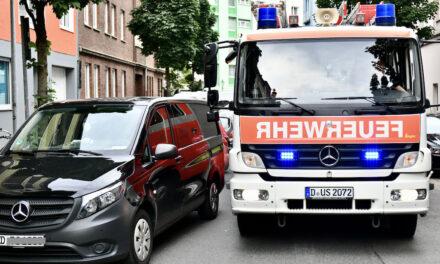 Einsatzreicher Vormittag für die Feuerwehr Düsseldorf