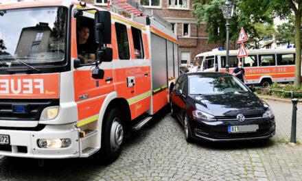 Falschparker gefährden Menschenleben – Retter brauchen Platz!