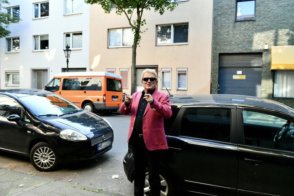 Heino in Oberbilk Foto: LOKALBÜRO