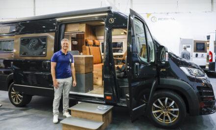 Caravaning-Fan Ralf Schumacher besucht CARAVAN SALON