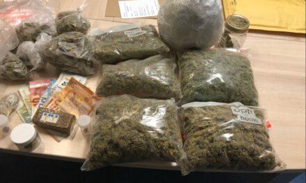 Dealerwohnung aufgeflogen — 1,5 Kilogramm Marihuana, 1,5 Kilo Amphetamin und 16.250 Euro sichergestellt