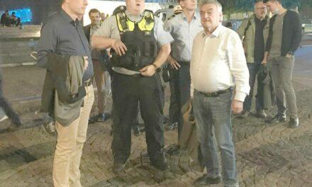OB Keller und Innenminister Reul machen Rundgang durch die Altsatdt