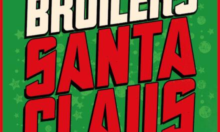 BROILERS-Weihnachtsalbum »Santa Claus« sorgt dafür, dass 2021 die Heilige Nacht weniger still wird als gewohnt!