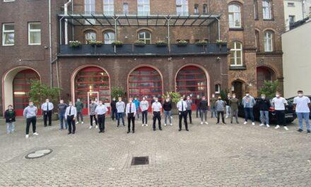 Ausbildungsoffensive der Feuerwehr Düsseldorf