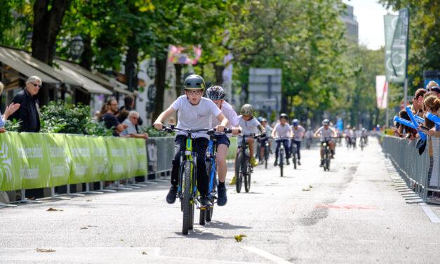Kinderradrennen auf der Kö: Die Siegerinnen und Sieger des Petit Départ 2021