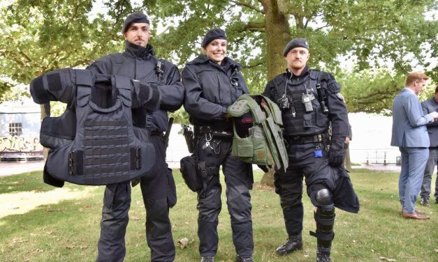 Neue Körperschutzausstattung für die NRW-Bereitschaftspolizei