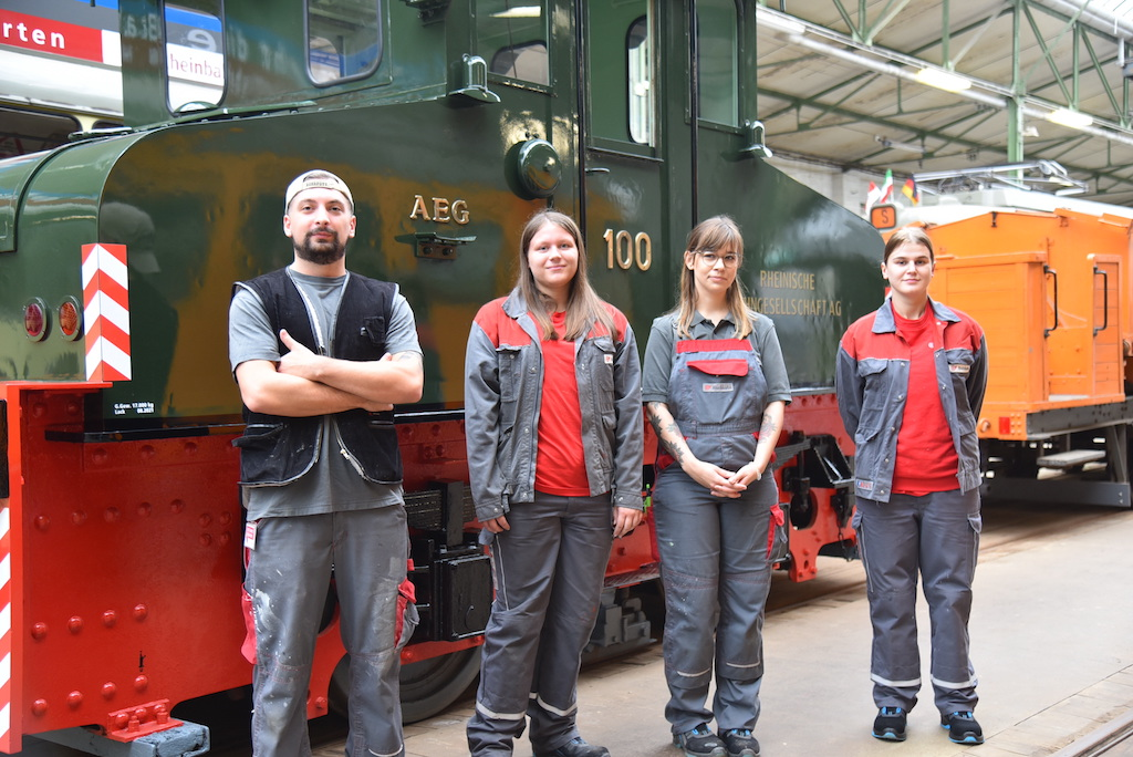 Die Macher: v.l Grokay Gülerler, Chiara Sieburg, Marina Paciorek und Julia Keulig Foto: LOKALBÜRO