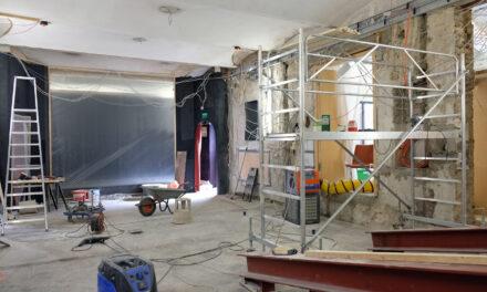 Der Umbau des Marionetten-Theaters ist finanziert