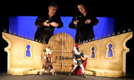 Eine Benefizveranstaltung zugunsten des Düsseldorfer Marionetten-Theaters