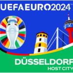 Das ist das Logo zur UEFA EURO 2024 in Düsseldorf