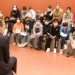Kinderpressekonferenz in der neuen Zentralbibliothek