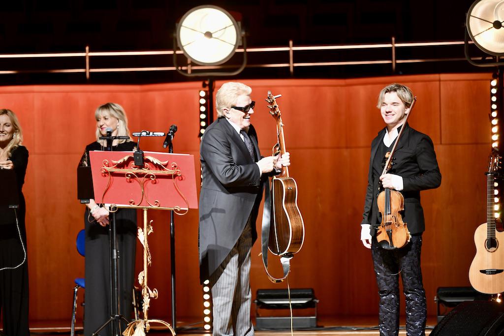 Heino und Virtuose Yuri Revich Foto: LOKALBÜRO