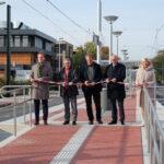 """Neuer Hochbahnsteig an der Haltestelle """"Aldekerkstraße"""" geht in Betrieb"""